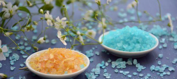 Salzkristallampe